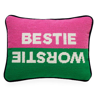 Подушка Bestie Workstie Needlepoint