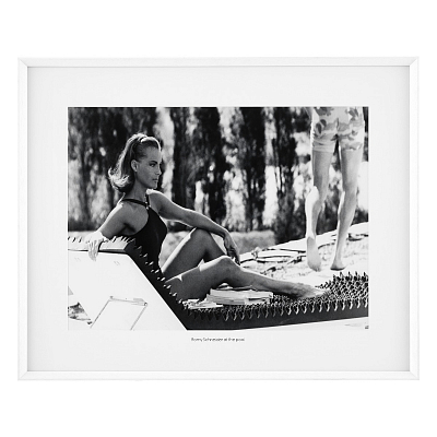 Постер Romy Schneider at the Pool